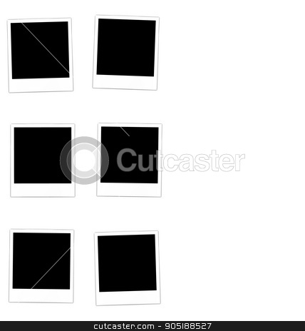Collection photo frame  stock vector clipart, Collection photo frame for design scrapbook space for your text - vector by -=Mad Dog=-
