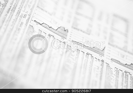 Stock Markets Newspapers. Analysis of the stock market. stock photo, Stock Markets Newspapers. Analysis of the stock market. by dani3315