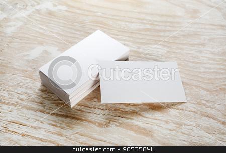 Blank business cards stock photo blank business cards colourmoves