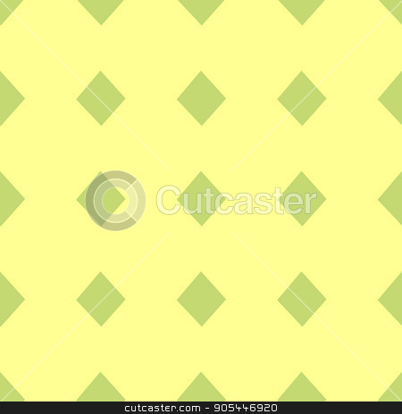 seamless pattern. EPS 10 vector illustration. used for printing, websites, design, interior, fabrics, etc. green diamonds card suit on a yellow background stock vector clipart, seamless pattern. EPS 10 vector illustration. used for printing, websites, design, ukrasheniayya, interior, fabrics, etc. green diamonds card suit on a yellow background by Kseniia