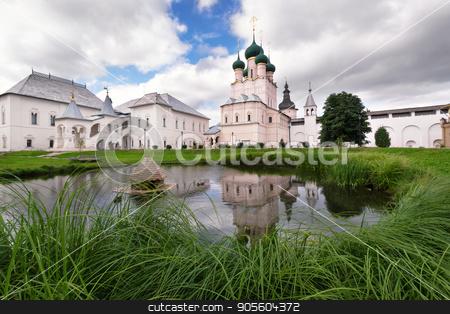 The Church in the Kremlin of Rostov stock photo, Church in Kremlin of Rostov the Great by Galina Bondarenko