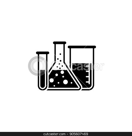 Laboratory and Medical Services Icon. Flat Design. stock vector clipart, Laboratory and Medical Services Icon. Flat Design. Isolated. by Vadym Nechyporenko