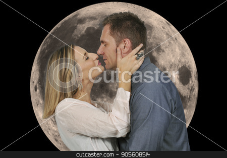 Couple in Love stock photo, Couple in love man and a woman by Robert Byron