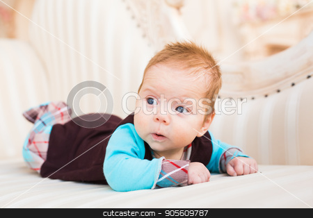 Cute baby boy, closeup portrait of adorable child, sweet toddler with blue eyes, healthy childhood, perfect caucasian infant, lovely kid, innocence concept stock photo, Cute baby boy, closeup portrait of adorable child, sweet toddler with blue eyes, healthy childhood, perfect caucasian infant, lovely kid, innocence concept by Satura86