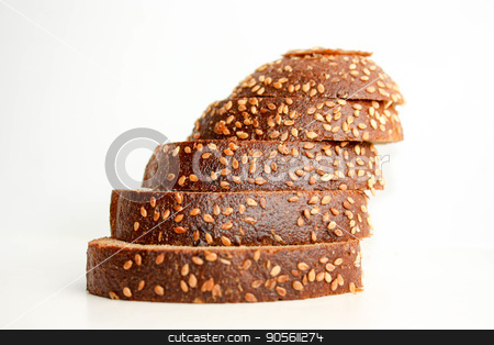 Bread brown. Photo stock photo, Bread brown. Photo for your design crumbs by Kseniia