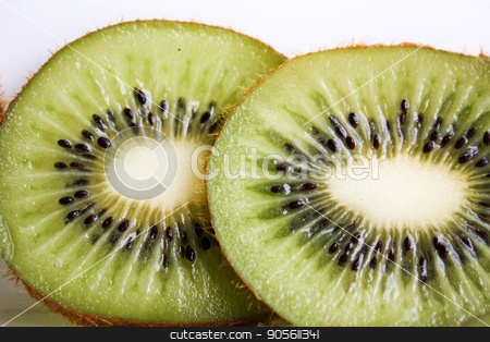 Kiwi juicy green. on a white background stock photo, Kiwi juicy green. on a white background. Photo for your design by Kseniia