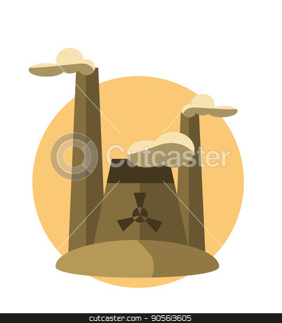 concept illustrations with icon of pollution stock vector clipart, concept illustrations with icon of pollution . vector set by Igor Samoilik