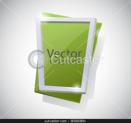 Abstract vector banner stock vector clipart, Abstract vector banner , set on white background vector illustration EPS10 by Igor Samoilik