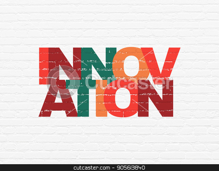 Business concept: Innovation on wall background stock photo, Business concept: Painted multicolor text Innovation on White Brick wall background by mkabakov