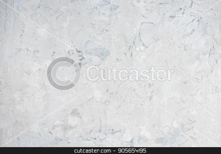 White concrete background stock photo, White empty concrete background for your design by olinchuk
