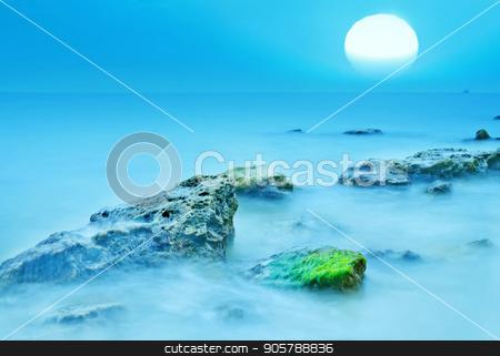 sea coast stock photo, sea coast by tycoon