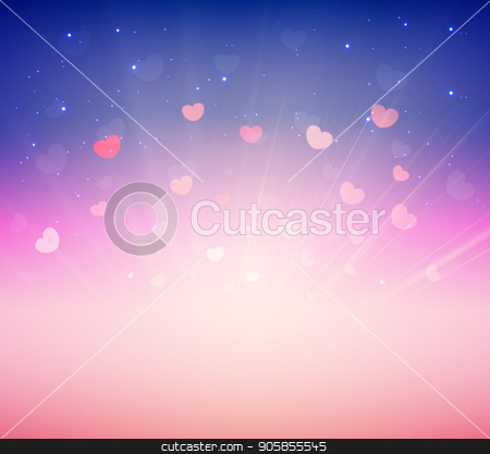 Soft Pink Romance Background For Greeting Card Valentine Day stock vector clipart, Soft Pink Romance Background For Greeting Card Valentine Day, vector by Lantica