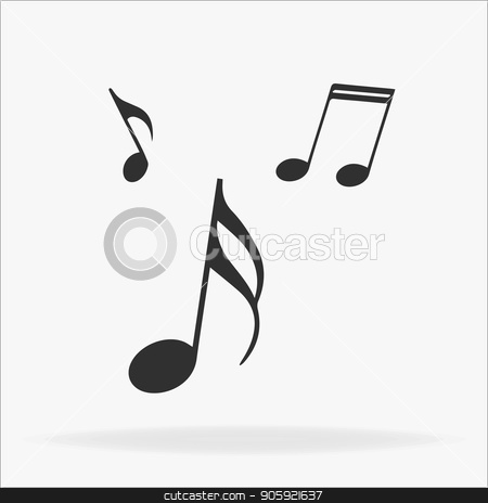 Music note icon in trendy flat style isolated on background. Music note icon page symbol for your web site design Music note icon logo, app, UI. Music note icon Vector illustration, EPS 10. stock vector clipart, Music note icon in trendy flat style isolated on background. Music note icon page symbol for your web site design Music note icon logo, app, UI. Music note icon Vector illustration, EPS10. by elnurbabayev