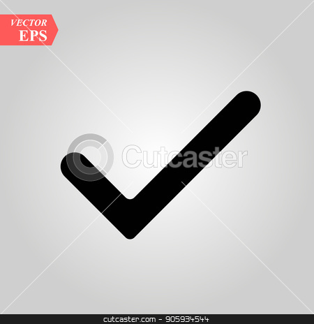 Check Mark Check Icon Vector In Trendy Flat Style Isolated On