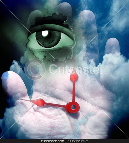 Time keeper stock photo, Hour is at hand by Bruce Rolff
