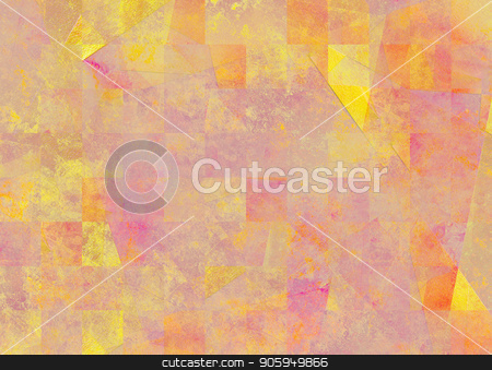 Abstract background in pink yellow soft colors stock photo, Abstract background in pink yellow soft colors. 3D rendering by Bruce Rolff