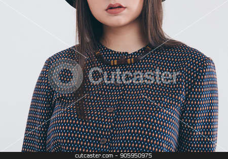cropped photo: close-up of clothing items: black shirt stock photo, cropped photo: close-up of clothing items: black shirt by aaalll3110