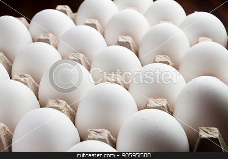 Food, easter, cholesterol, Eggs stock photo, bunch of eggs isolated against a black background still sitting in their tray by txking