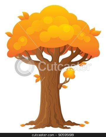 Tree topic image 2 stock vector clipart, Tree topic image 2 - eps10 vector illustration. by Klara Viskova