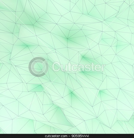 Illustration of polygonal triangle geometric surface. 3D render backround of low poly background. stock photo, Illustration of polygonal triangle geometric surface. 3D render backround of low poly background by T-flex