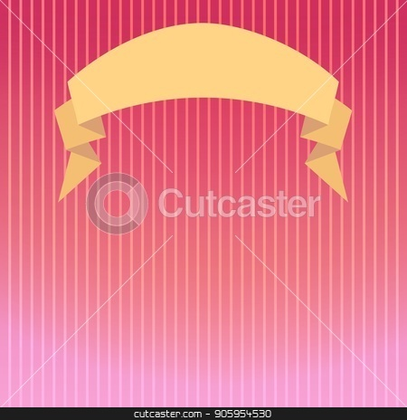 Striped background in pink tones with a backlight beam and a semicircular ribbon stock vector clipart, Striped background in pink tones with a backlight beam and a semicircular ribbon for your headline. Can be used for invitations, congratulations, anniversary, promotional offers, web banners by Heliburcka