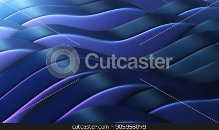 3D rendering,Blue-violet abstract fields vj Loop stock photo