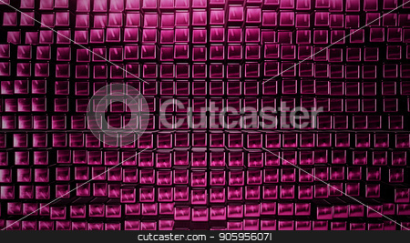 3D render Background from the pink squares stock photo, 3D render Background from the pink squares 4k by bigcity31