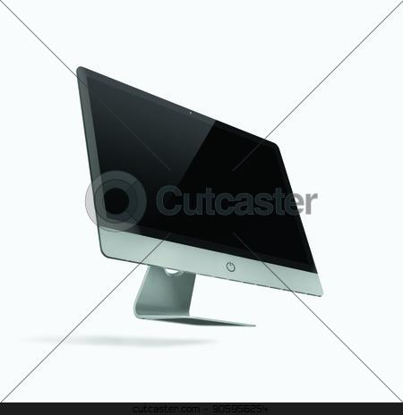 3D render of a desktop computer on a white background stock photo, 3D render of a desktop computer on a white background 2k by bigcity31