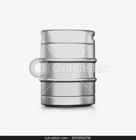 3D render kegs on a white background stock photo, 3D render kegs on a white background 2k by bigcity31