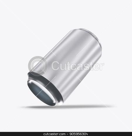 3D render metal cans on a white background stock photo, 3D render metal cans on a white background 2k by bigcity31