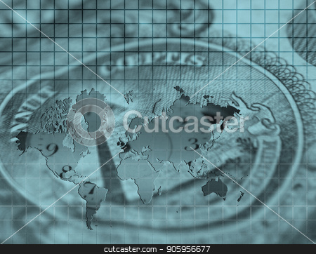 Money stock photo, World Business Composition by Bruce Rolff