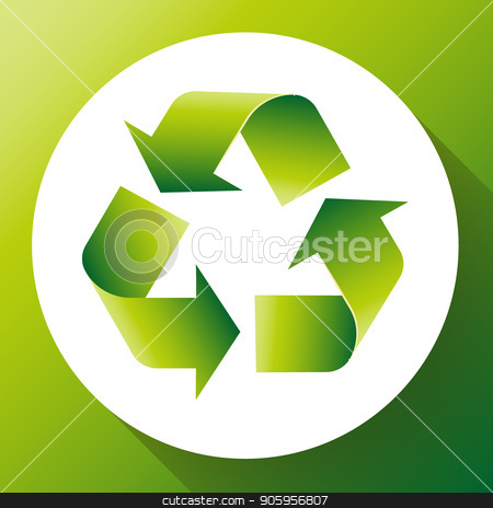 Green arrows recycle eco symbol vector illustration isolated on white background. Recycled sign. Cycle recycled icon. Recycled materials symbol. Recycled icon. stock vector clipart, Green arrows recycle eco symbol vector illustration isolated on white background. Recycled sign. Cycle recycled icon. Recycled materials symbol. Recycled icon by MarySan