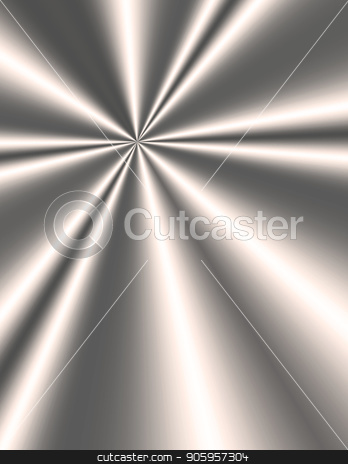 Shining Metal stock photo, Ray of light reflected on metal plate by Bruce Rolff
