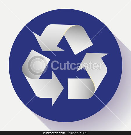 white arrows recycle eco symbol vector illustration isolated on white background. Recycled sign. Cycle recycled icon. Recycled materials symbol. Recycled icon. stock vector clipart, white arrows recycle eco symbol vector illustration isolated on white background. Recycled sign. Cycle recycled icon. Recycled materials symbol. Recycled icon by MarySan