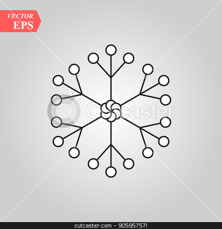 Snowflake icon, Snowflake icon vector, in trendy flat style isolated on white background. Snowflake icon image, Snowflake icon illustration eps10 stock vector clipart, Snowflake icon, Snowflake icon vector, in trendy flat style isolated on white background. Snowflake icon image, Snowflake icon illustration eps 10 by elnurbabayev
