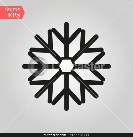 Snow Flake icon in trendy flat style background, image jpg, vector eps, flat web, material icon, UI illustration stock vector clipart, Snow Flake icon in trendy flat style background, image jpg, vector eps, flat web, material icon, UI illustration eps 10 by elnurbabayev