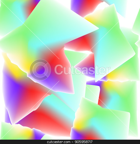 Abstract SeamlessColorful Pattern. Blurred Background stock vector clipart, Abstract Seamless Colorful Pattern. Colored Blurred Background by valeo5