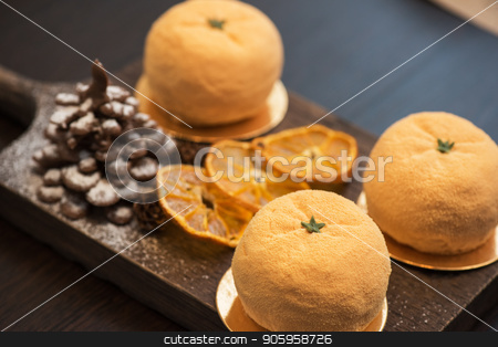 Tasty dessert for xmas