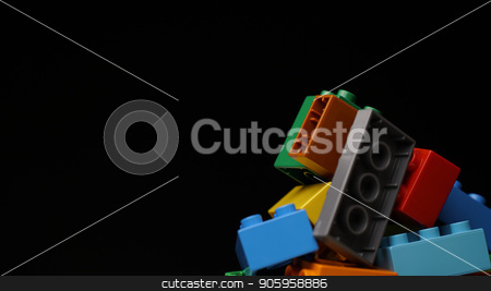 colorful plastic constructor background stock photo, close up colorful plastic constructor background design by petr zaika