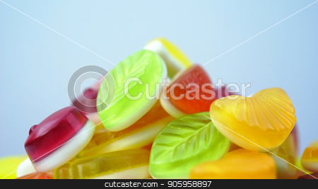 bright tasty colourful marmalade jelly candies. stock photo, bright tasty colourful marmalade jelly candies background by petr zaika