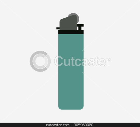 lighter icon stock vector clipart, lighter icon by Mark1987