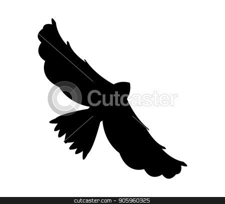 eagle icon stock vector clipart, eagle icon by Mark1987