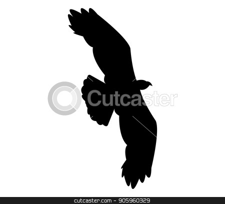 eagle icon stock vector clipart, eagle icon by Mark1987