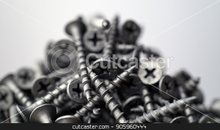many self tapping screws background stock photo, many self tapping screws background. Working tools close up. by petr zaika