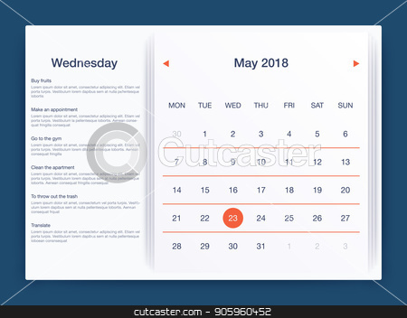 Dashboard infographic template with modern design stock vector clipart, Dashboard infographic template with modern design annual statistics graphs. UI elements by Amelisk