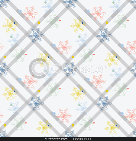 Seamless pattern background. Abstract and Classical concept. Geometric creative design stylish theme. Illustration vector. Black and white color. Snowflake ice for Christmas day stock vector clipart, Seamless pattern background. Abstract and Classical concept. Geometric creative design stylish theme. Illustration vector. Black and white color. Snowflake ice for Christmas day eps10 by elnurbabayev