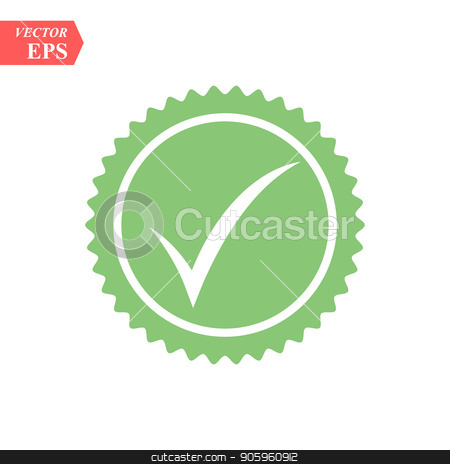 Tick icon vector symbol, green checkmark isolated on white background, checked icon or correct choice sign, check mark or checkbox pictogram stock vector clipart, Tick icon vector symbol, green checkmark isolated on white background, checked icon or correct choice sign, check mark or checkbox pictogram eps10 by elnurbabayev