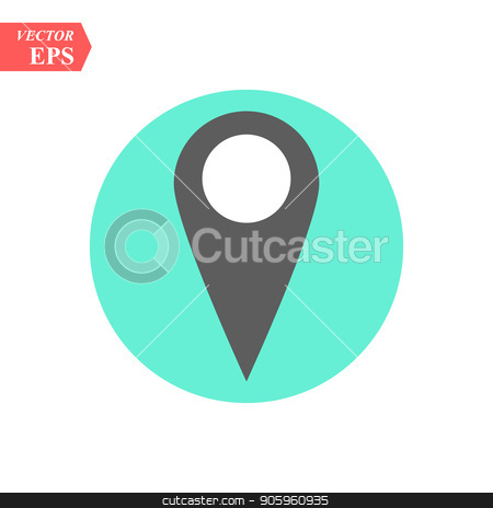 Point Map Location Icon Vector Logo Template eps10 stock vector clipart, Point Map Location Icon Vector Logo Template eps 10 by elnurbabayev