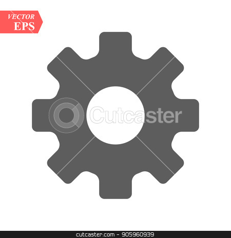 Setting icon vector, Tools, Cog, Gear Sign Isolated on white background. Help options account concept. Trendy Flat style for graphic design, logo, Web site, social media, UI, mobile app, EPS10 stock vector clipart, Setting icon vector, Tools, Cog, Gear Sign Isolated on white background. Help options account concept. Trendy Flat style for graphic design, logo, Web site, social media, UI, mobile app, EPS 10 by elnurbabayev