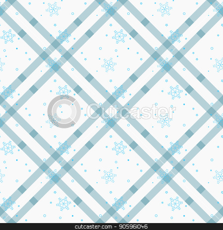 White snowflakes seamless pattern. Winter holidays collection. Vector illustration. stock vector clipart, White snowflakes seamless pattern. Winter holidays collection. Vector illustration. eps10 by elnurbabayev